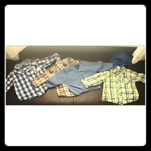 Baby 3-6 Months LOT (4) Shirts & Cardigan Gap O.N.